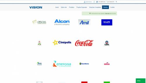 ee1741031 Lançamento oficial do Novo Site da Vision Atendimento - Criação de Sites  Profissionais em São Bento do Sul