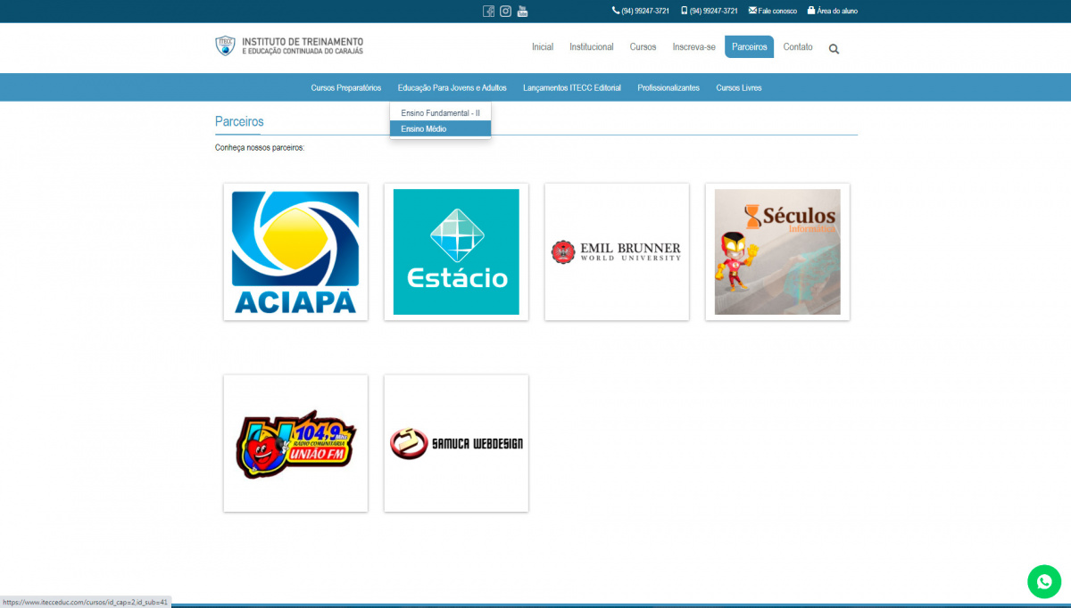 Novo Site do ITECC